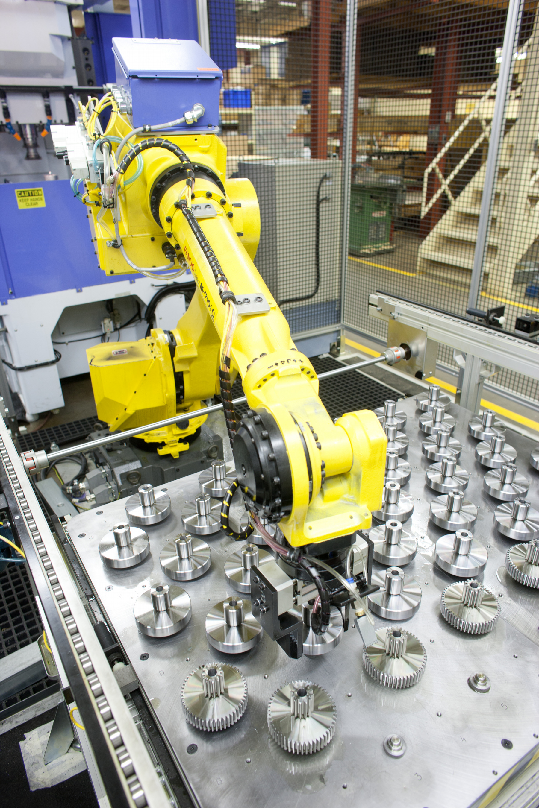 State-of-the-art manufacturing equipment